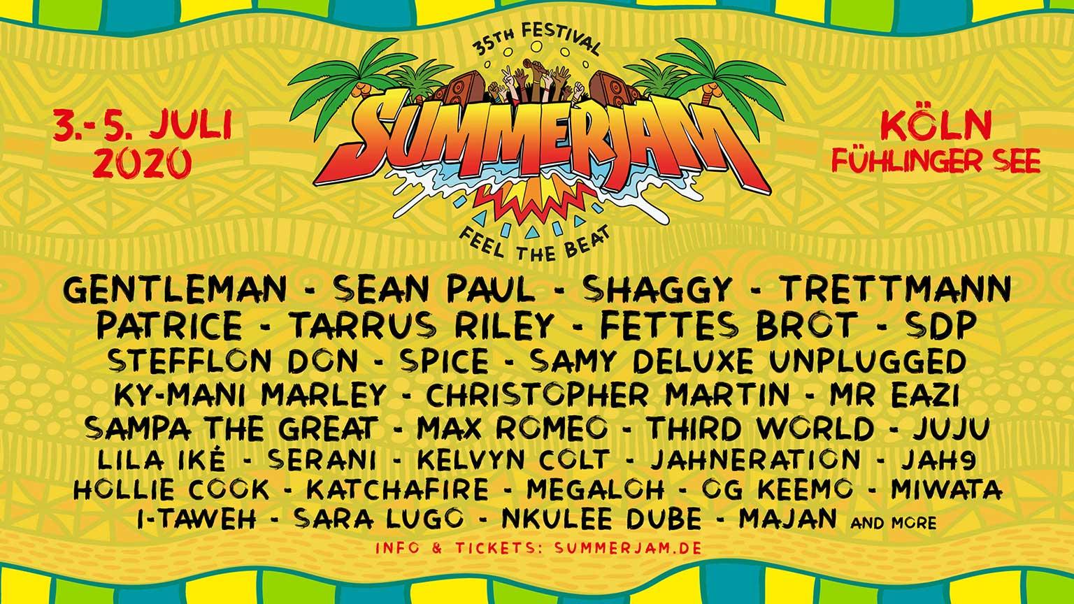 Summerjam Programm